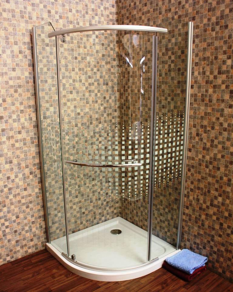 duschkabine duschabtrennung viertelkreis glaskabine se 014 80 x 80cm ebay. Black Bedroom Furniture Sets. Home Design Ideas