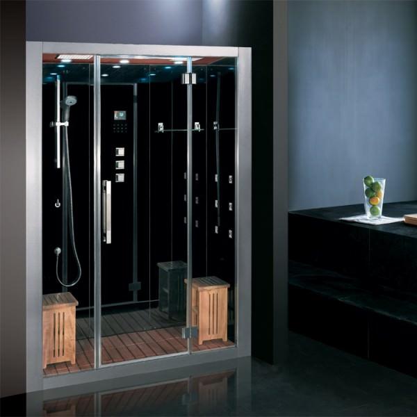 dampfdusche dusche duschtempel duschkabine sauna dampfbad jacuzzi lxw dz972f8 ebay. Black Bedroom Furniture Sets. Home Design Ideas