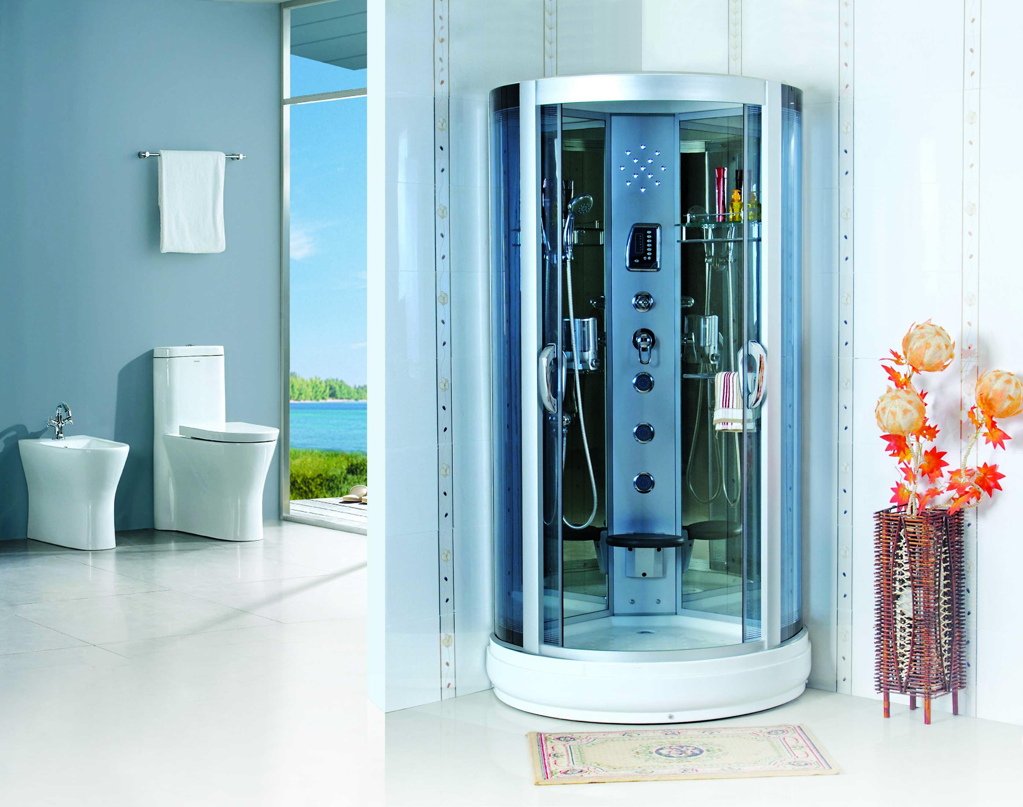 dusche duschabtrennung duschtempel duschkabine neu sofort lieferbar lxw lts 610a ebay. Black Bedroom Furniture Sets. Home Design Ideas