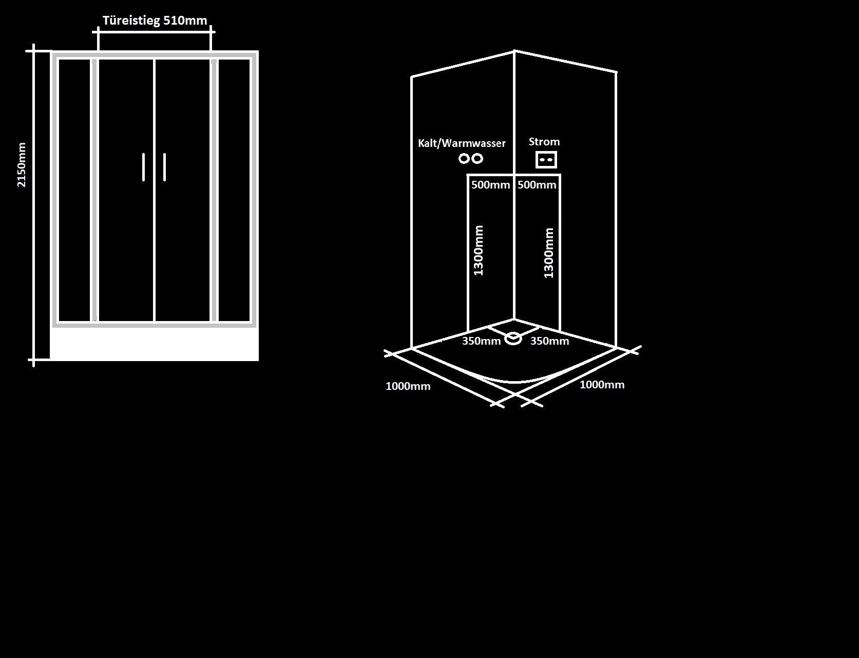 Steckdose R?ckwand Dusche : Duschtempel Komplett Glasdusche Dusche Fertigdusche LXW1011 eBay