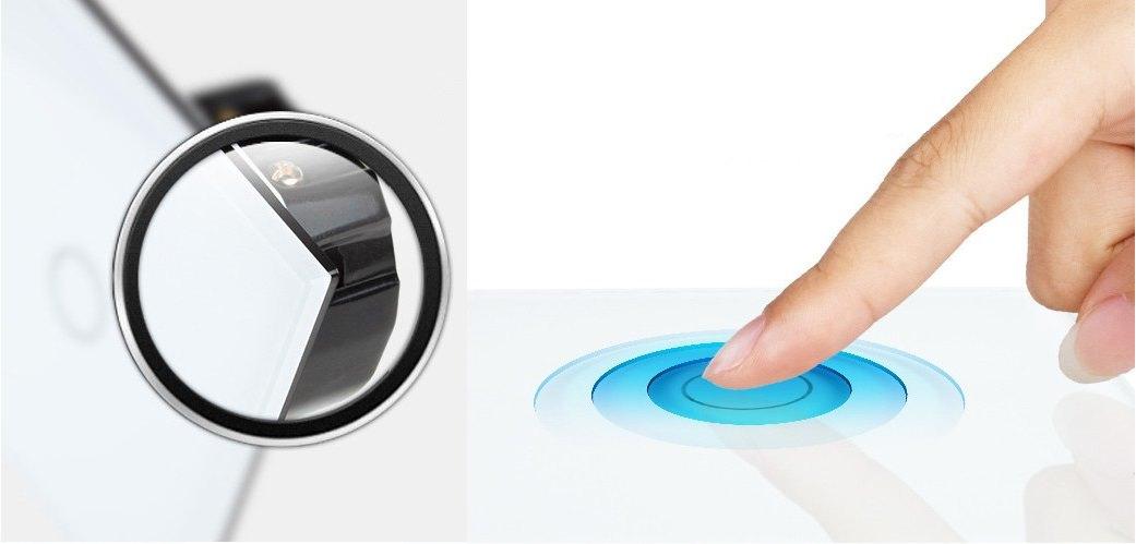 steckdose lichtschalter rolladenschalter glas touchscreen. Black Bedroom Furniture Sets. Home Design Ideas