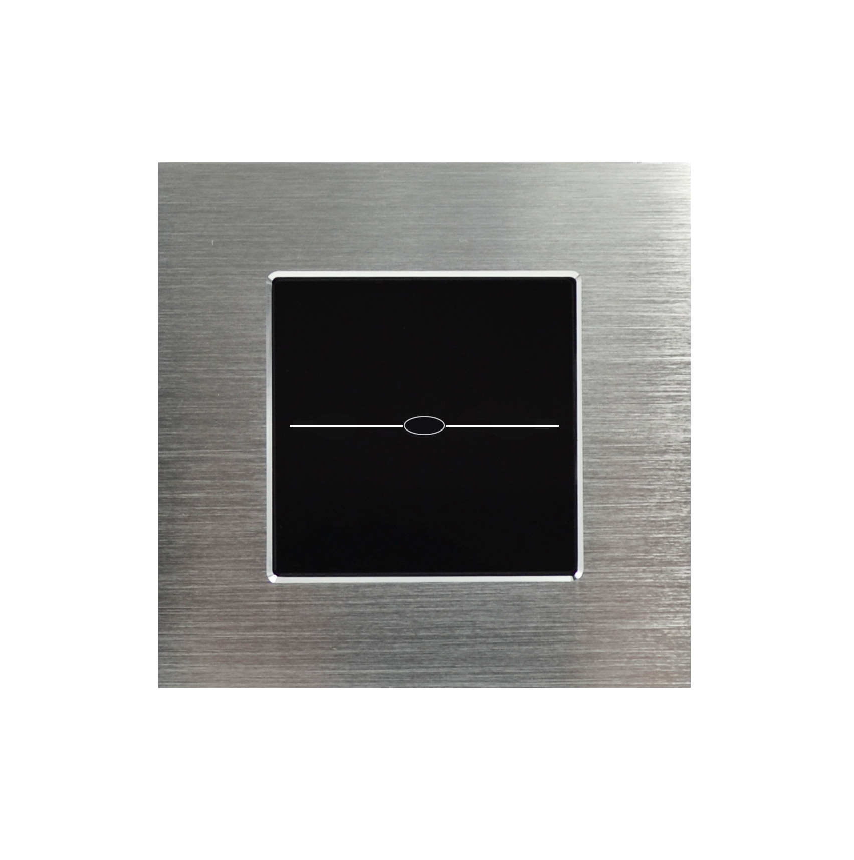 lichtschalter aluminiumrahmen glas touchscreen. Black Bedroom Furniture Sets. Home Design Ideas