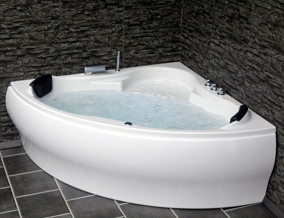 whirlpool corner whirlpool bathtub jacuzzi pool lxw paris. Black Bedroom Furniture Sets. Home Design Ideas