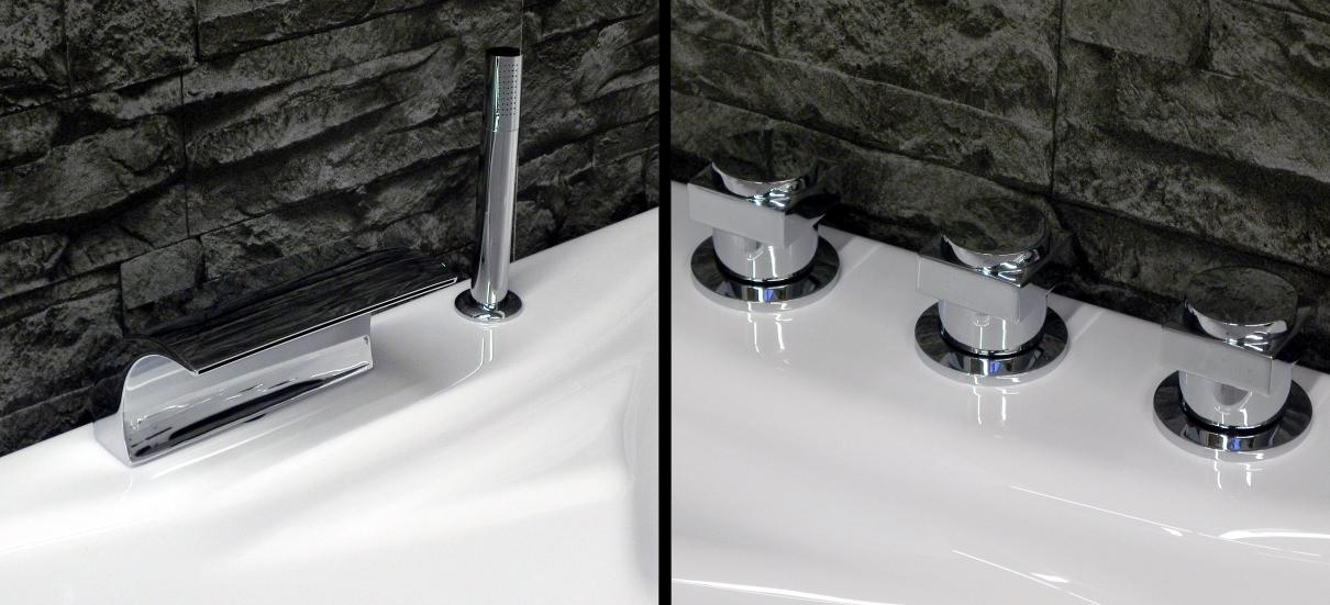whirlpool eckwhirlpool badewanne pl paris made in germany. Black Bedroom Furniture Sets. Home Design Ideas