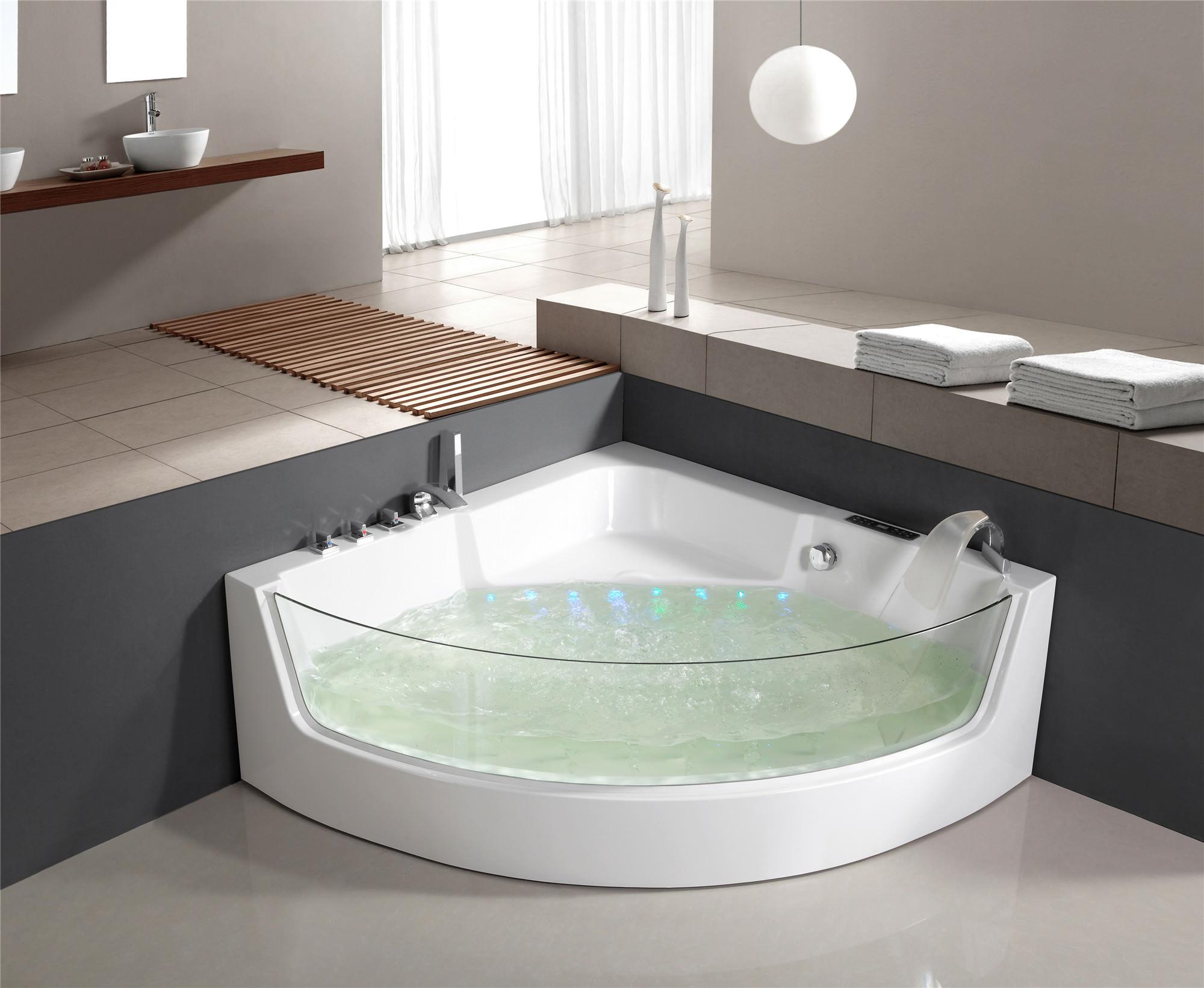 luxus whirlpool badewanne jacuzzi wanne whirlwanne pool lxw 1531 ebay. Black Bedroom Furniture Sets. Home Design Ideas