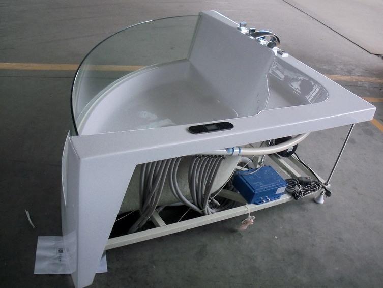 Vasca idromassaggio di lusso da bagno jacuzzi whirlwanne - Vasca da bagno piscina ...