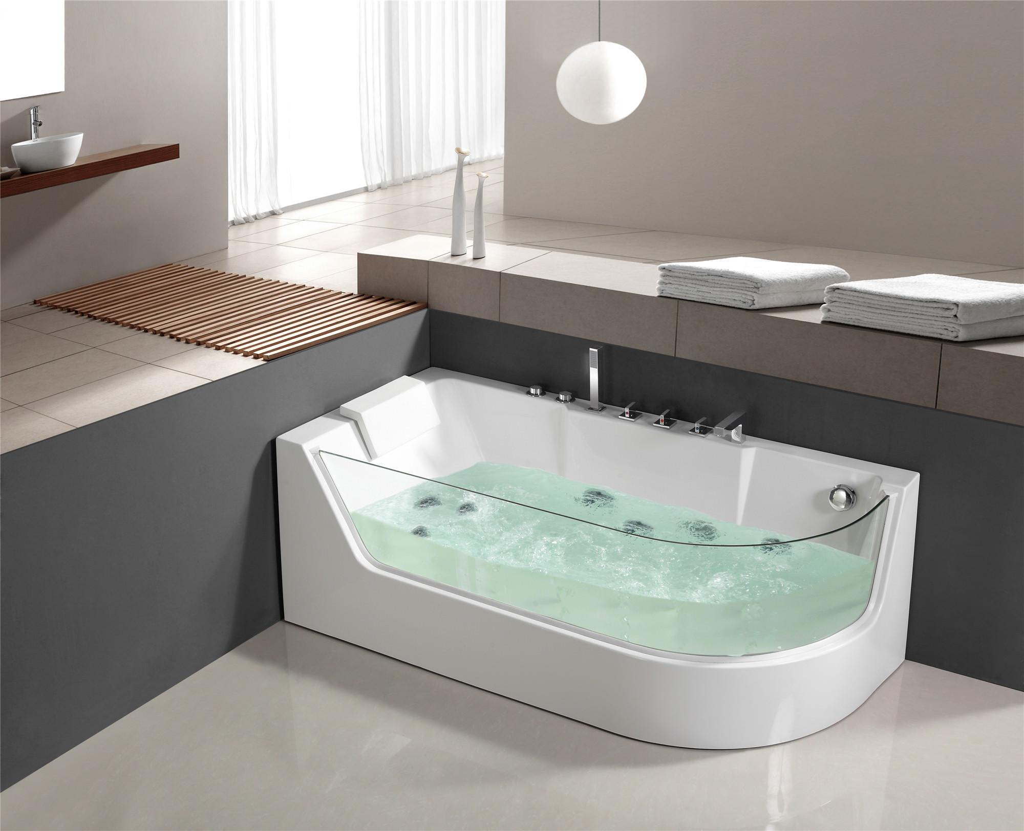 whirlpool bain remous douche jacuzzi baignoire pool lxw 1533 gauche ebay. Black Bedroom Furniture Sets. Home Design Ideas