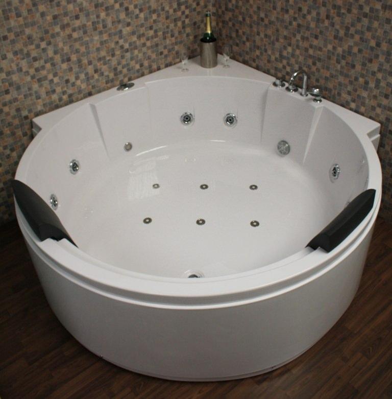 eckwhirlpool whirlpool badewanne led d sen jacuzzi. Black Bedroom Furniture Sets. Home Design Ideas