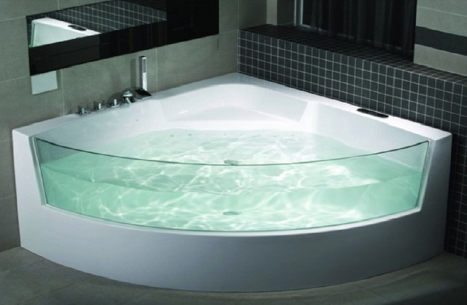 eckwhirlpool whirlpool badewanne jacuzzi london ebay. Black Bedroom Furniture Sets. Home Design Ideas