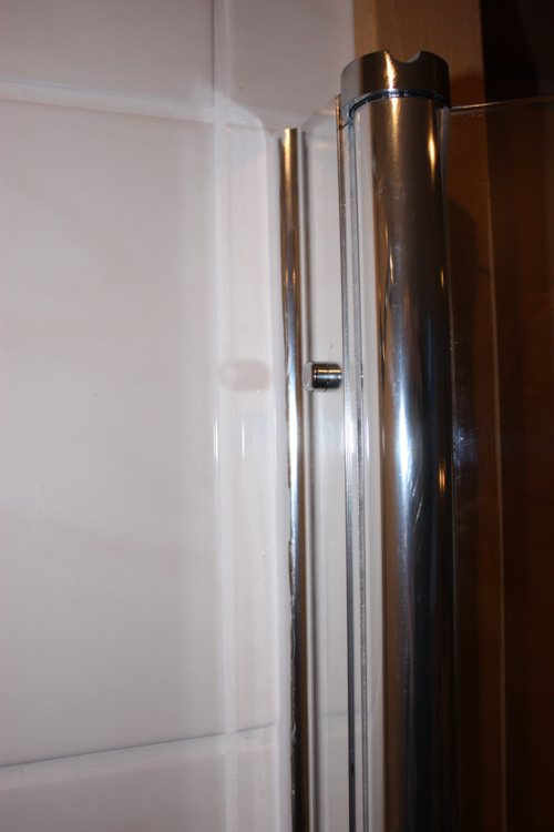 Shower partition niche door shower door niche 100 x 190 for Luxus shower doors
