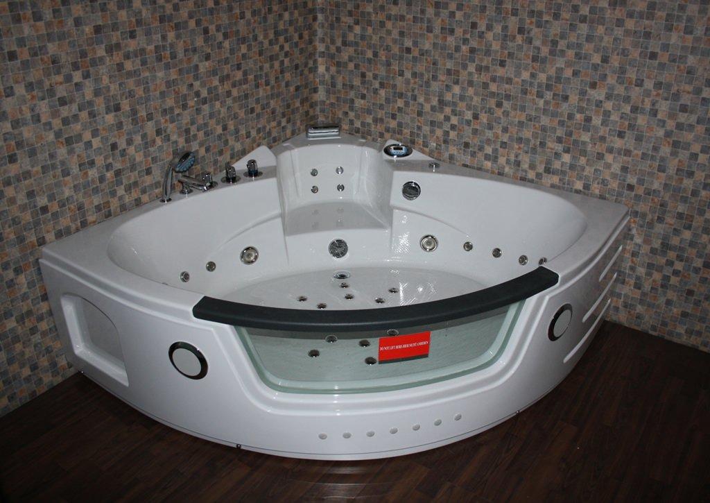eckwhirlpool whirlpool badewanne neu uvp mit heizung ebay. Black Bedroom Furniture Sets. Home Design Ideas